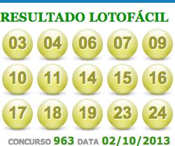 lotofacil 963