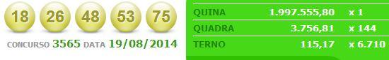 quina 3565