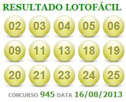 lotofacil 945