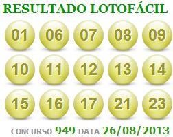 lotofacil 949