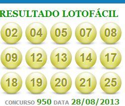 lotofacil 950