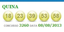 quina 3260