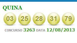 quina 3263