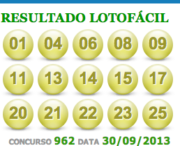 lotofacil 962