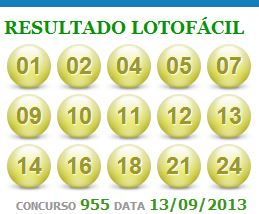 lotofacil 955