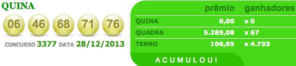quina 3377