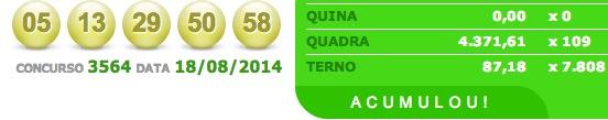 quina 3564