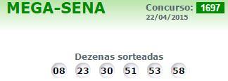 mega sena 1197