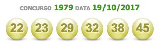 teste resultado mega sena 1979